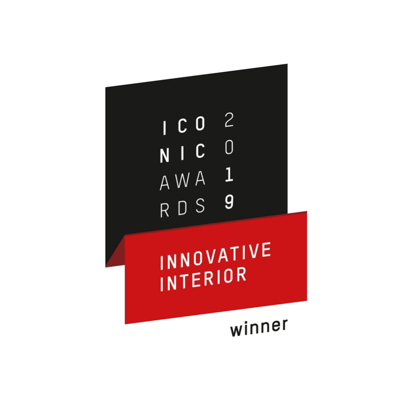 Iconic Award for Innovative Interior