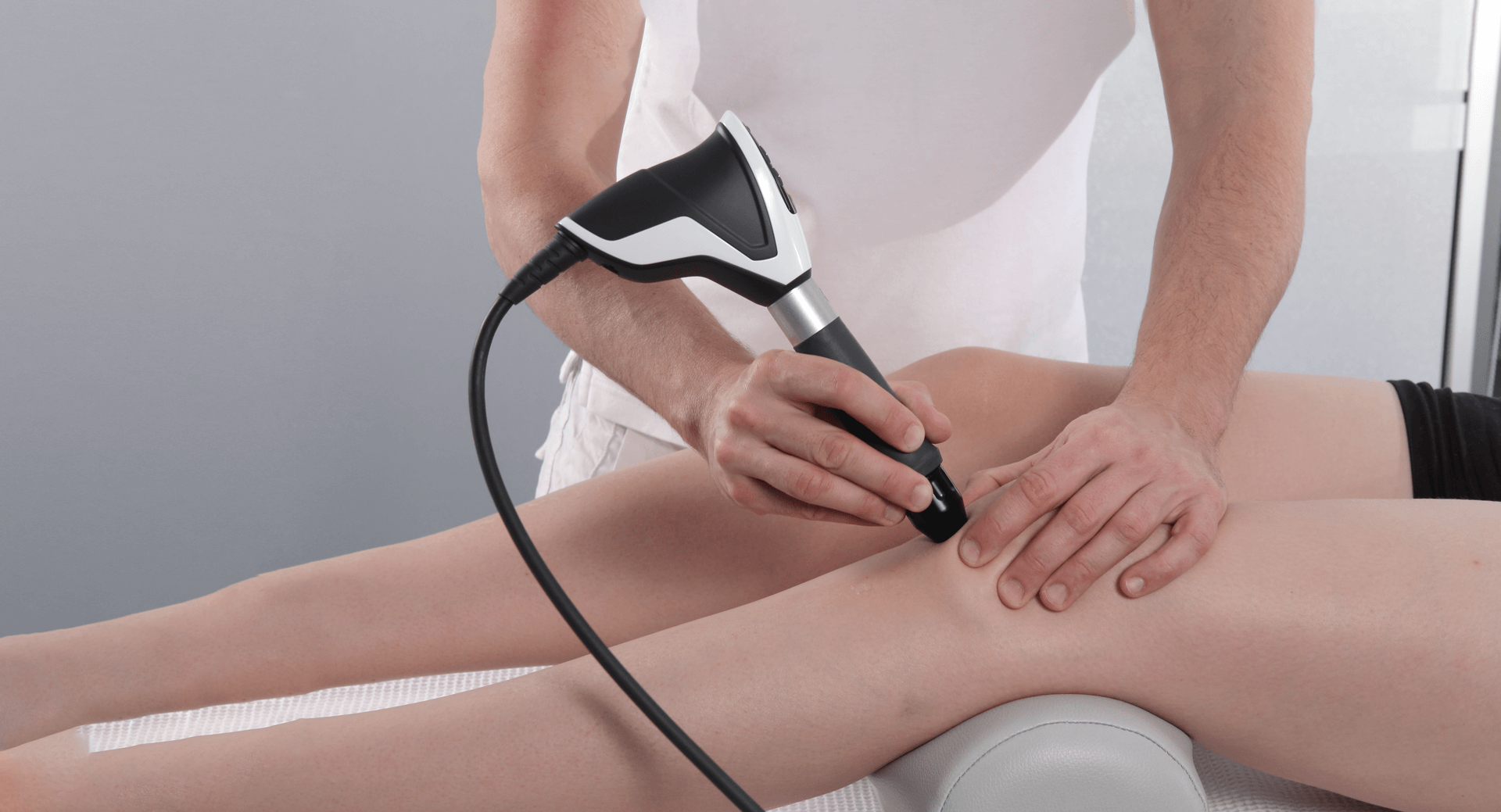 An exception to a treatment with the Sepia handpiece by Storz Medical